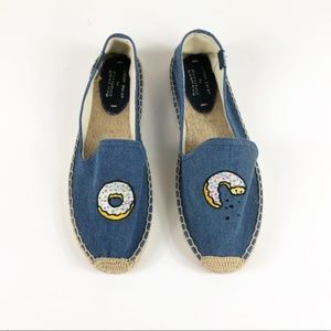SOLUDOS Donut Embroidery Espadrilles